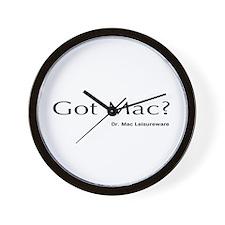 Dr. Mac LeisureWare Wall Clock