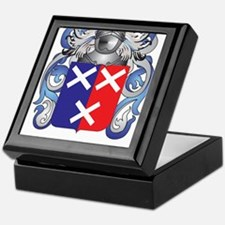 Lane Coat of Arms - Family Crest Keepsake Box