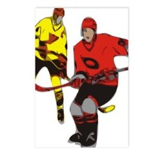 Ice Hockey Postcards (Package of 8)