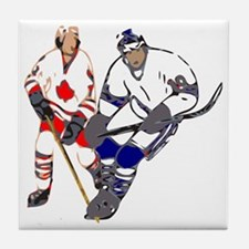 Ice Hockey Tile Coaster