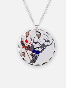 Ice Hockey Necklace