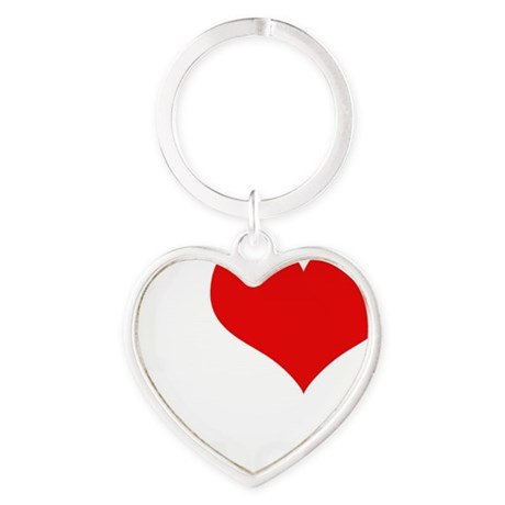 DISC GOLF Heart Keychain