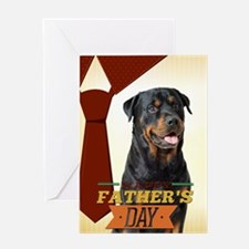 Rottie Father's Day Card
