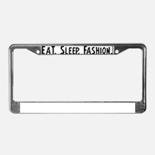 Fashion. License Plate Frame