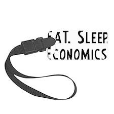Economics. Luggage Tag