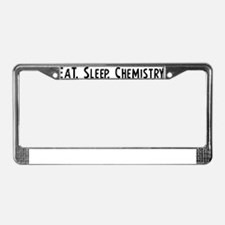 Chemistry. License Plate Frame