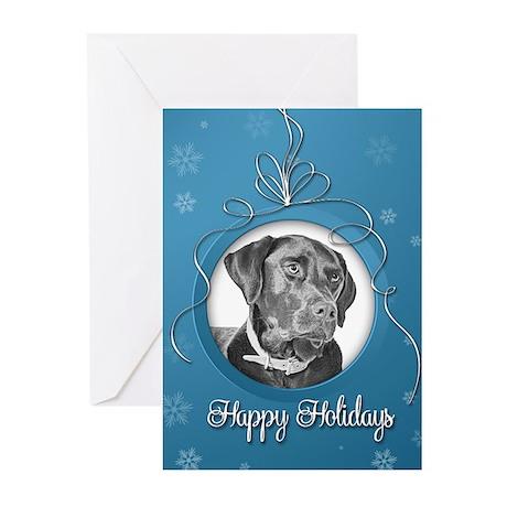 Elegant Labrador Holiday Cards (Pk of 10)