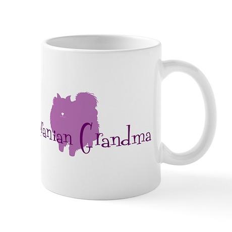 Pomeranian Grandma Mug