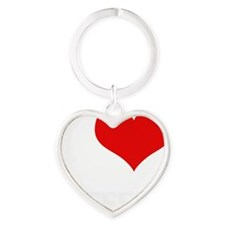 JEFFERY Heart Keychain