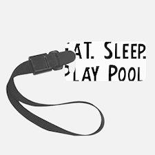 Play Pool. Luggage Tag
