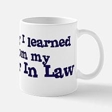 Daughter In Law : Everything Mug