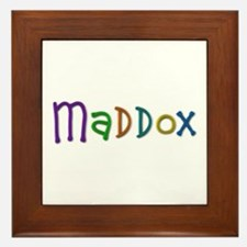 Maddox Play Clay Framed Tile