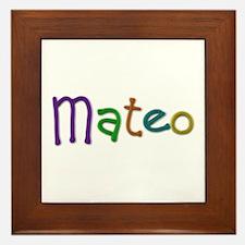 Mateo Play Clay Framed Tile