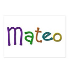 Mateo Play Clay Postcards 8 Pack