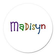 Madisyn Play Clay Round Car Magnet