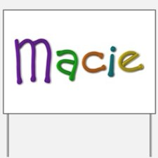 Macie Play Clay Yard Sign