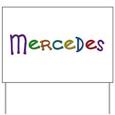 Mercedes Play Clay Yard Sign