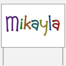 Mikayla Play Clay Yard Sign