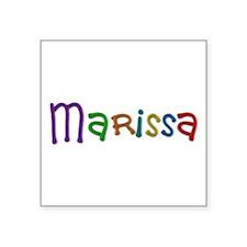 Marissa Play Clay Square Sticker