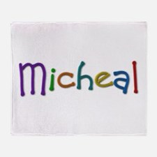 Micheal Play Clay Throw Blanket