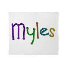 Myles Play Clay Throw Blanket