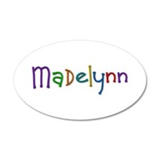 Madelynn Play Clay 35x21 Oval Wall Decal