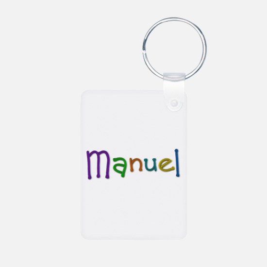 Manuel Play Clay Aluminum Keychain