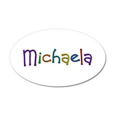 Michaela Play Clay 20x12 Oval Wall Decal