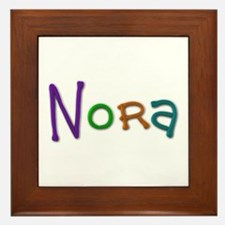Nora Play Clay Framed Tile