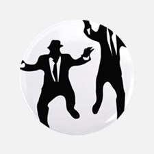 """Dancing Brothers 3.5"""" Button"""