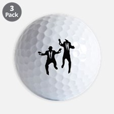 Dancing Brothers Golf Ball
