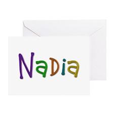 Nadia Play Clay Greeting Card