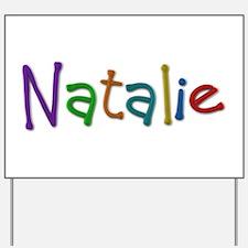Natalie Play Clay Yard Sign