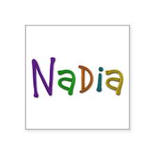 Nadia Play Clay Square Sticker