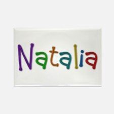 Natalia Play Clay Rectangle Magnet 10 Pack