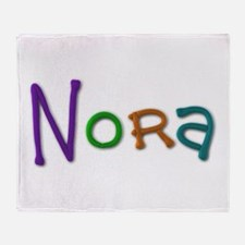 Nora Play Clay Throw Blanket