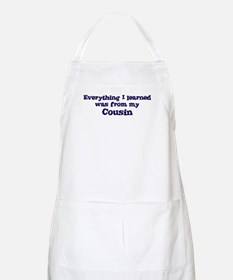 Cousin : Everything BBQ Apron