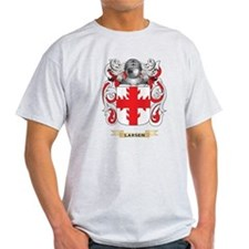Larsen Coat of Arms - Family Crest T-Shirt