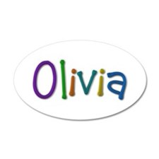 Olivia Play Clay Wall Decal