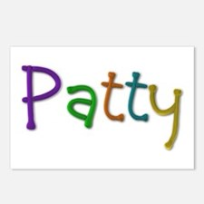 Patty Play Clay Postcards 8 Pack
