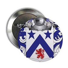 "Lartigue Coat of Arms - Family Crest 2.25"" Button"