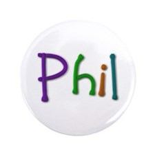 Phil Play Clay Big Button