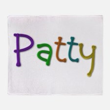 Patty Play Clay Throw Blanket