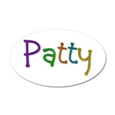 Patty Play Clay Wall Decal
