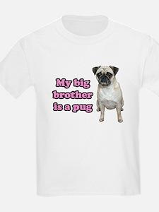 Big Brother Pug T-Shirt