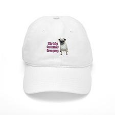 Big Brother Pug Baseball Cap