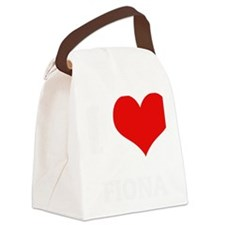 FIONA Canvas Lunch Bag