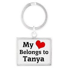 Tanya Landscape Keychain