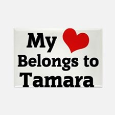 Tamara Rectangle Magnet