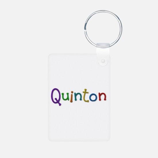 Quinton Play Clay Aluminum Keychain